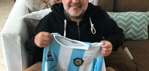 Juventud ya tiene todo en regla para sortear las camisetas de Maradona