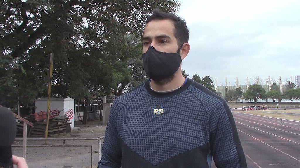 Maxi Díaz se recupera de su lesión