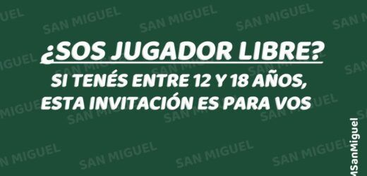 San Miguel realizará una prueba de jugadores