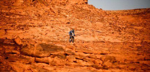 Dakar: Kevin Benavides fue segundo en motos en la tercera etapa
