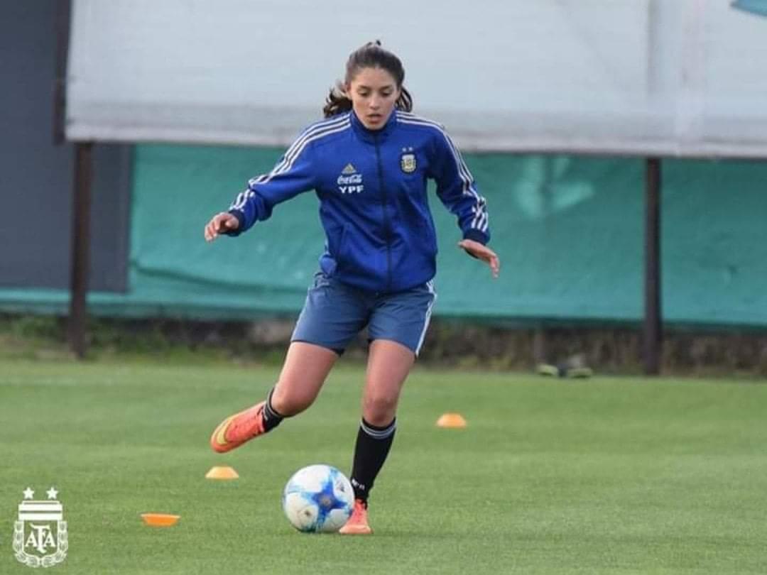 Flor Santander preseleccionada a la selección Argentina